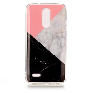 official photos 49d9d 03f88 LG Mix Marble Phone Cases - All Models