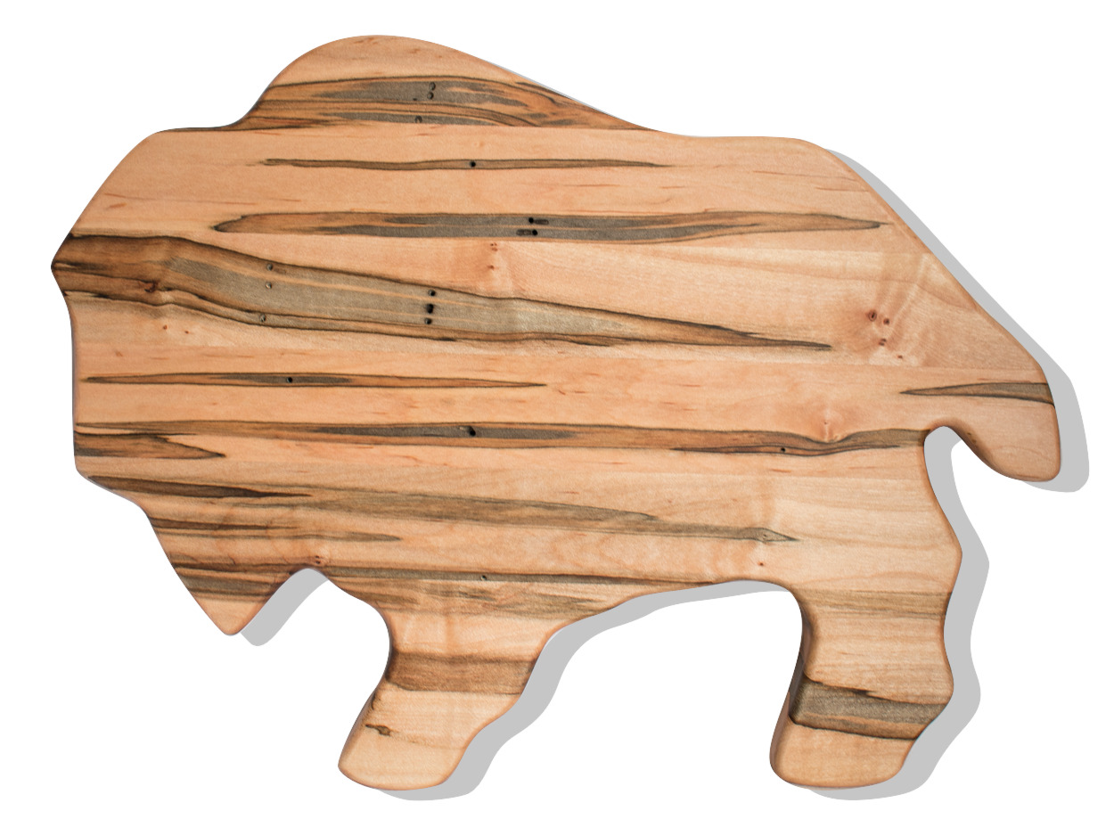 Buffalo Cutting Board in Ambrosia Maple