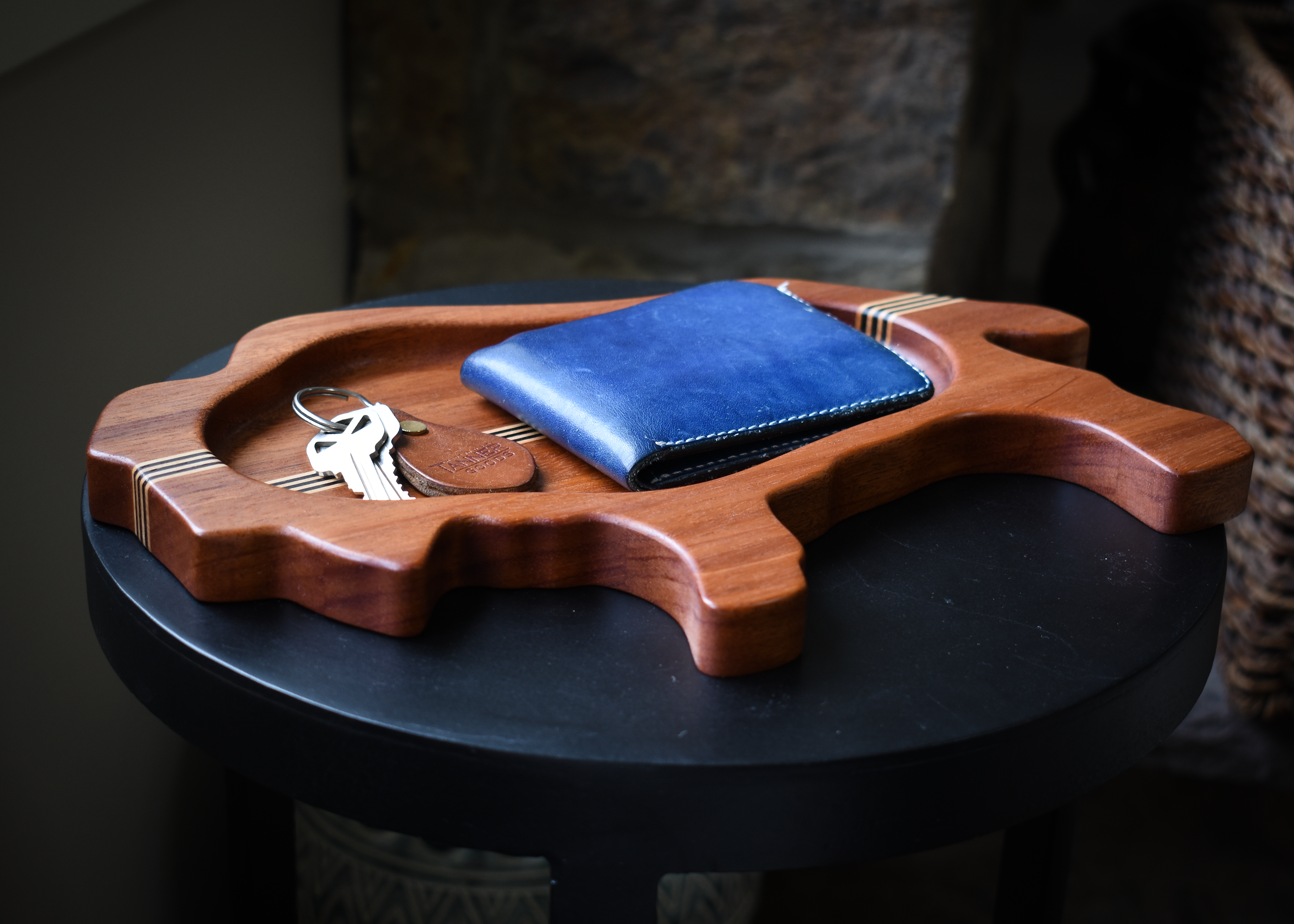 Buffalo Catchall in Mahogany w/ Maple & Wenge Accent