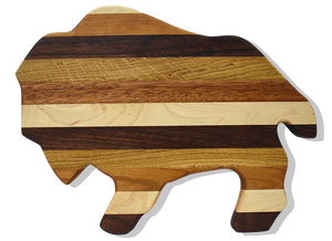 Buffalo Cutting Board in Various Hardwoods