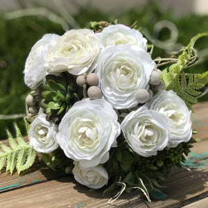 Midsummer's Dream Bridal Bouquet - Faux Flowers