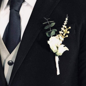 Sunflower Country Boutonniere - Faux Flowers
