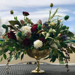 Whimsical Boho Arrangement - Faux Flowers