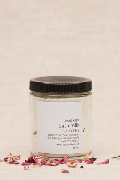 Iris + Poppy_Bath Milk