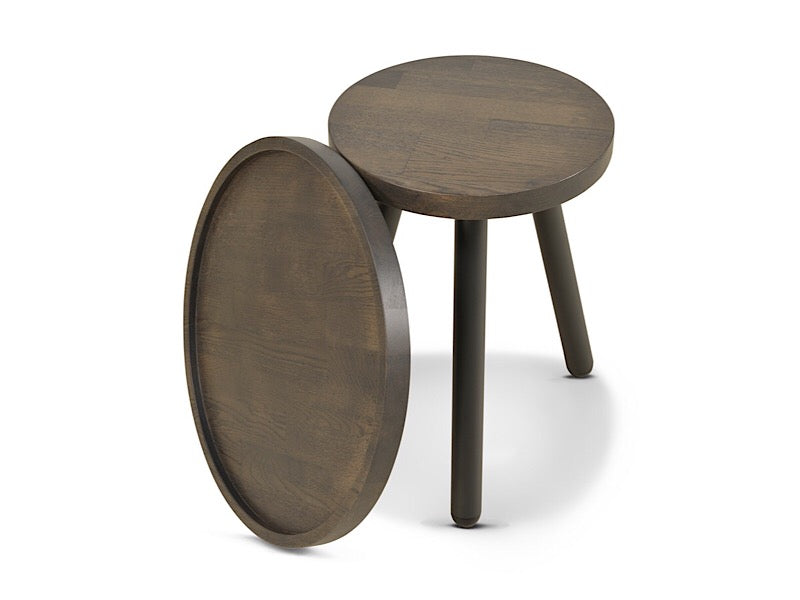 JON stool & tray by Studio Segers | Moome
