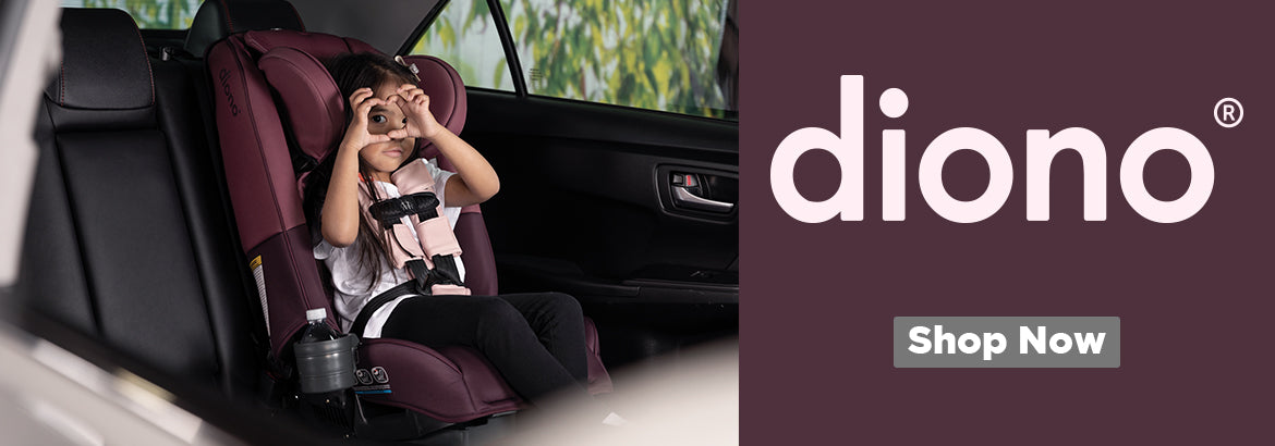 Diono offers some of the safest convertible car seats and high back boosters on the market thanks to our innovative Safe Stop technology & full steel frame.