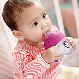 PHILIPS AVENT My Little Sippy Cup 7oz - Soft Spout - PinkiBlue