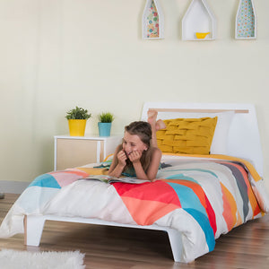 DUTAILIER Caramel Single Bed - PinkiBlue