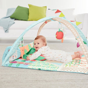 SKIP HOP Farmstand Grow & Play Activity Gym - PinkiBlue
