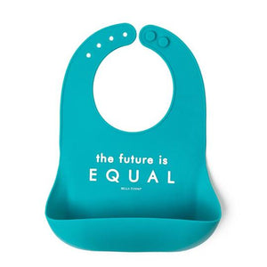 BELLA TUNNO Wonder Bib - Future is Equal - PinkiBlue