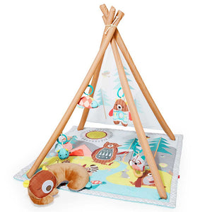SKIP HOP Camping Cub Activity Gym - PinkiBlue
