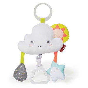 SKIP HOP Silver Lining Cloud Jitter Stroller Baby Toy - PinkiBlue