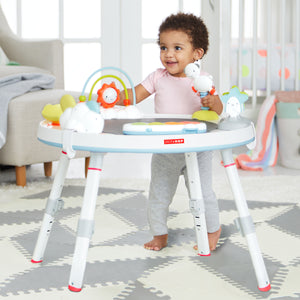 SKIP HOP Explore & More 3 Stage Activity Center - Silver Lining - PinkiBlue