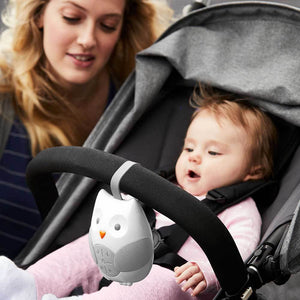 SKIP HOP Stroll & Go Travel Soother - PinkiBlue