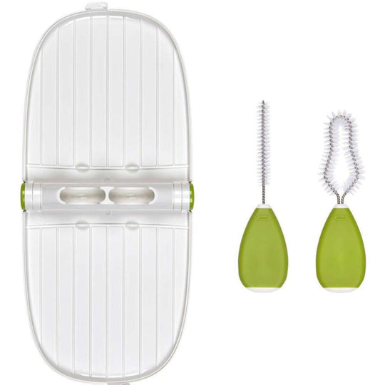 OXO - OXO Breast Pump Parts Drying Rack and Brushes