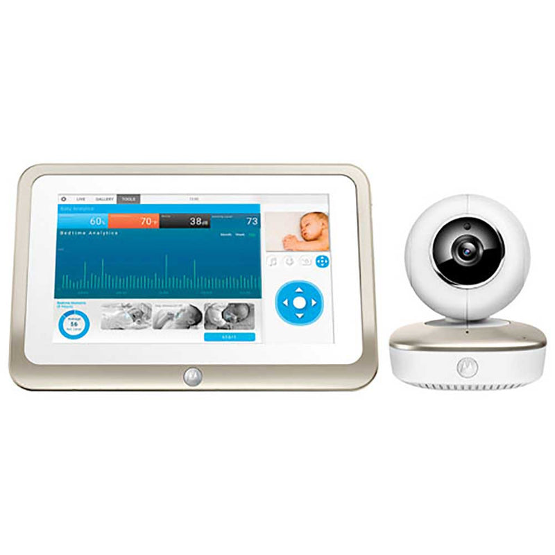 Motorola - MOTOROLA Smart Nursery 7'' Video Monitor W/ Wifi - Available at Boutique PinkiBlue