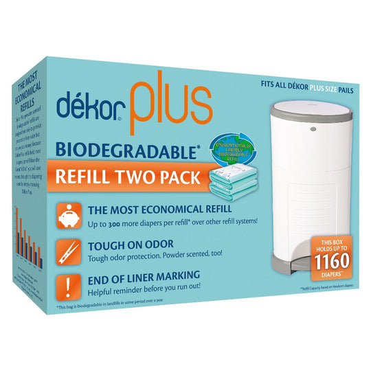 Dekor - DEKOR PLUS Biodegradable Refills - Available at Boutique PinkiBlue