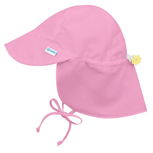 IPLAY Flap Sun Protection Hat - Light Pink - PinkiBlue