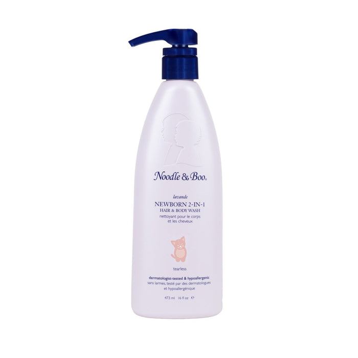 NOODLE & BOO Sibling Size 2 in 1 Hair and Body wash - LAVENDER (16oz)