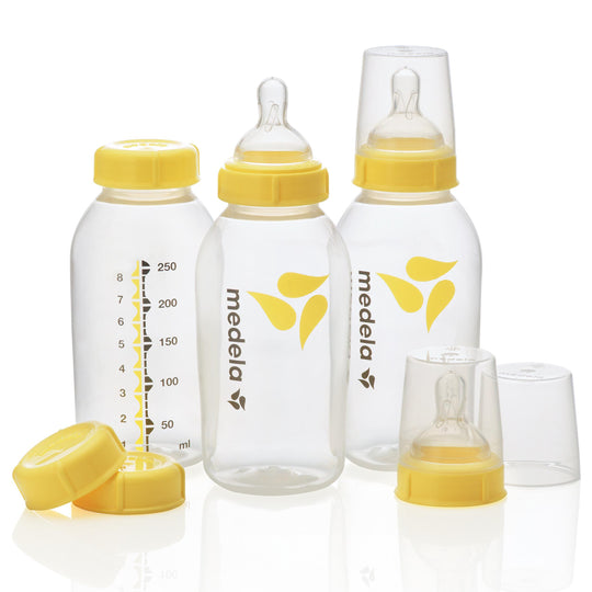 Medela - MEDELA Breast Milk Bottles 3/PK - Available at Boutique PinkiBlue