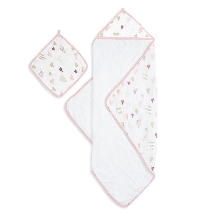 ADEN AND ANAIS Hooded Towel Set