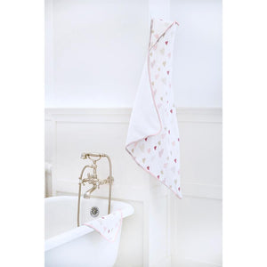 ADEN AND ANAIS Hooded Towel Set - PinkiBlue