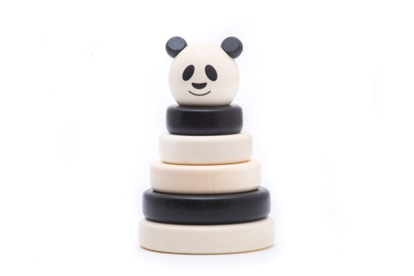 BAJO Wooden Toy - Panda Stacker