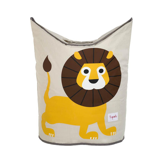 3 Sprouts laundry hamper lion/yellow