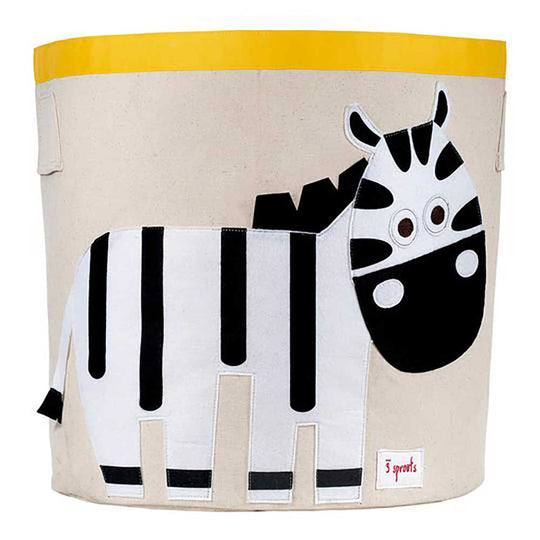 3 Sprouts storage bin zebra /black