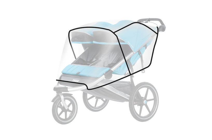 Thule - THULE Urban Glide Double Rain Cover - Available at Boutique PinkiBlue