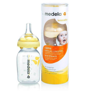 MEDELA Bottle With Calma Nipple - PinkiBlue