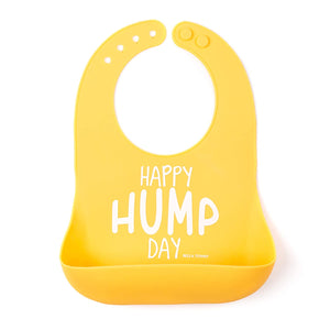 BELLA TUNNO Wonder Bib - Happy Hump Day - PinkiBlue
