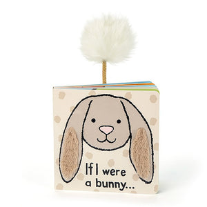 JELLYCAT Book If I Were A Bunny - PinkiBlue