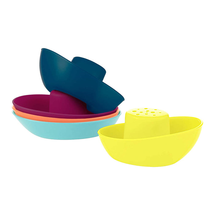 BOON Fleet Floating Boats Bath Toy