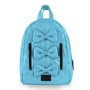7AM Mini Backpack - Bows - PinkiBlue