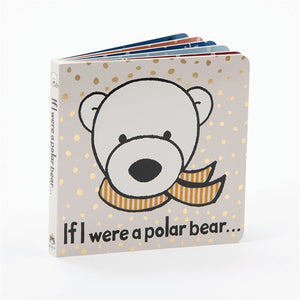 JELLYCAT Book If I Were A Polar Bear - Metallic Accents - PinkiBlue