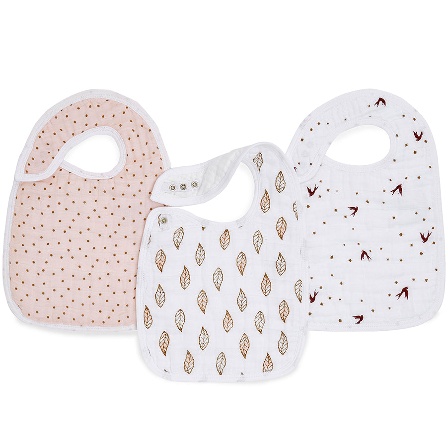 ADEN AND ANAIS Classic Snap Bibs