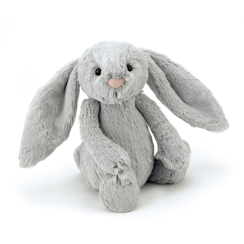 JELLYCAT 12in Bashful Bunny - Grey