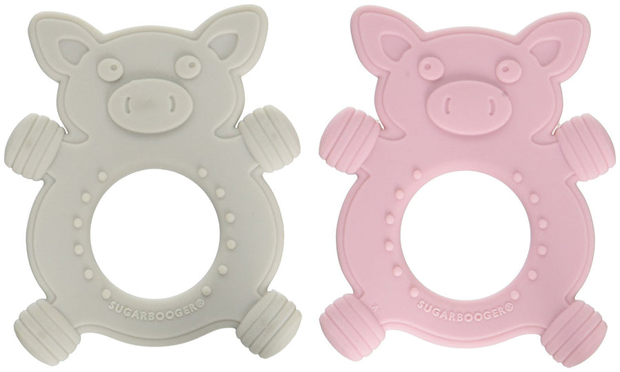 Sugarbooger - SUGARBOOGER Silicone Teether - Available at Boutique PinkiBlue