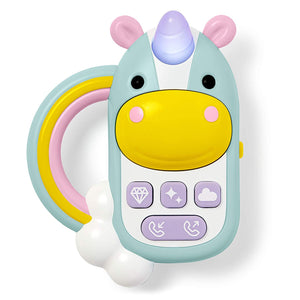 SKIP HOP Zoo Unicorn Phone - PinkiBlue