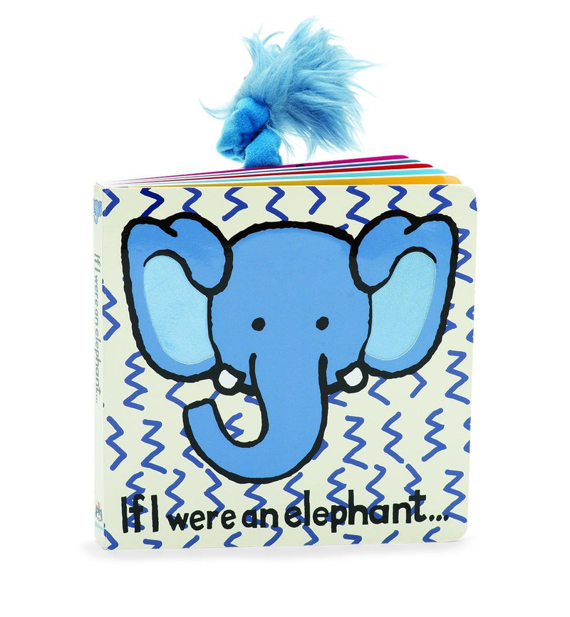 JELLYCAT Book If I Were An Elephant