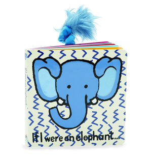 JELLYCAT Book If I Were An Elephant - PinkiBlue