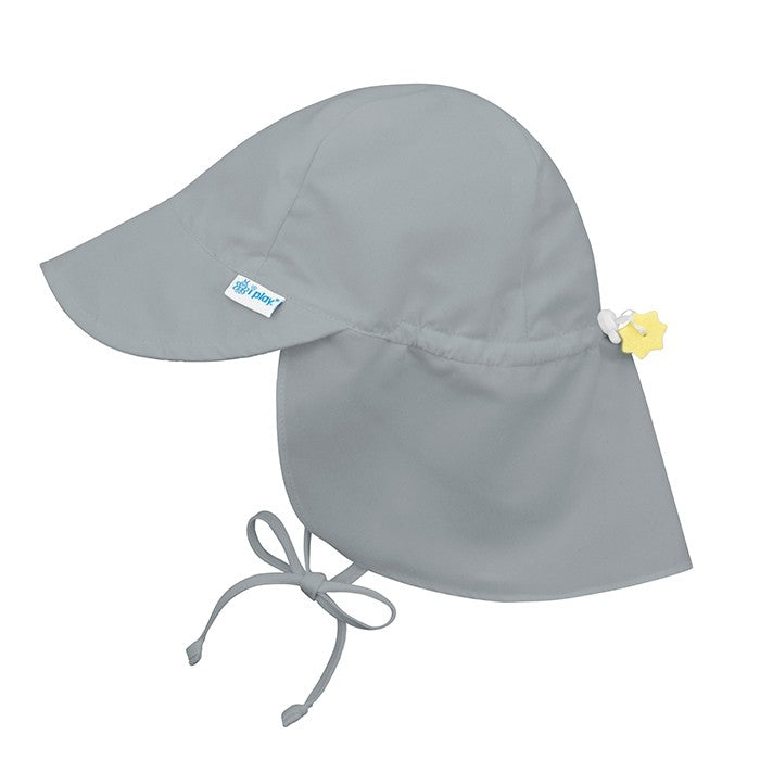 IPLAY Flap Sun Protection Hat - Grey