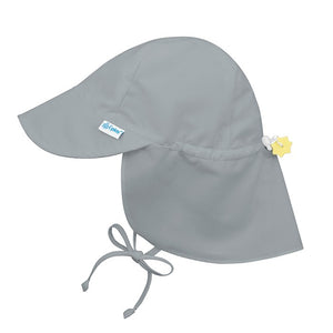 IPLAY Flap Sun Protection Hat - Grey - PinkiBlue