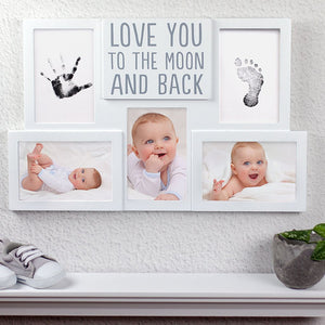 PEARHEAD Babyprints Collage Frame - PinkiBlue