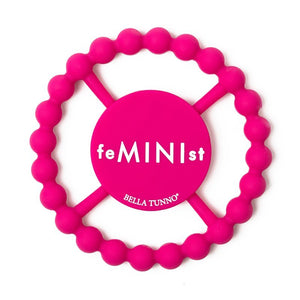 BELLA TUNNO Happy Teether - Feminist - PinkiBlue