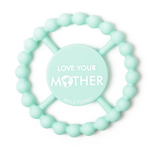 BELLA TUNNO Happy Teether - Love Your Mother - PinkiBlue