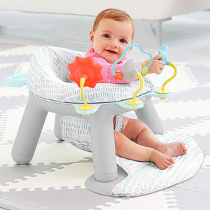 SKIP HOP Silver Lining Cloud 2-in-1 Activity Infant Seat - PinkiBlue