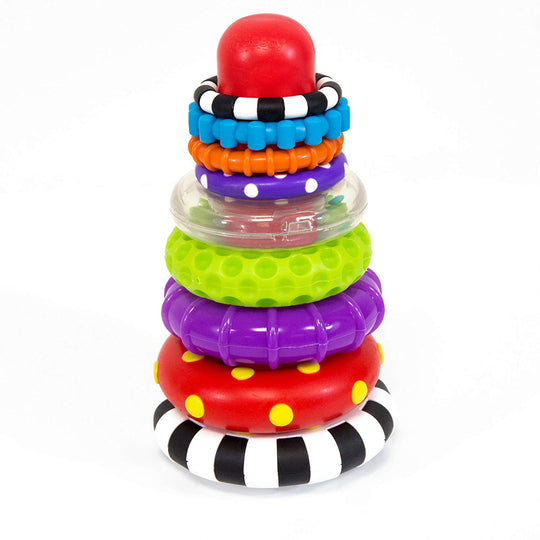 Sassy - SASSY Stack of Circles STEM Toy