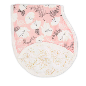 ADEN AND ANAIS Silky Soft Burpy Bib - PinkiBlue